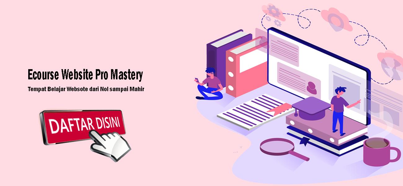Kelas Online Belajar Website, Cara Praktis Bikin Website ...